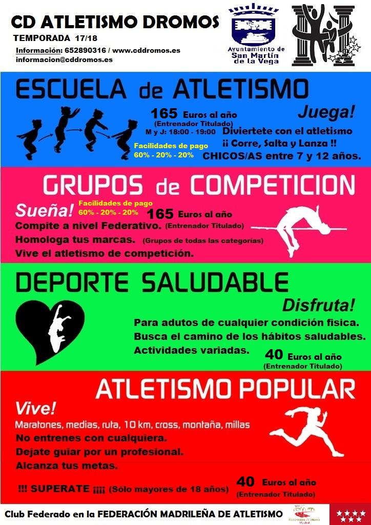 Abierta temporada 2017 / 2018
