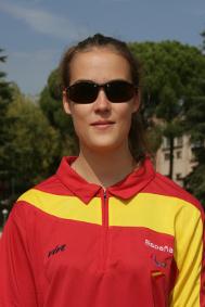 Lia Beel, atleta paralímpica, ficha por el CD ATLETISMO DROMOS.