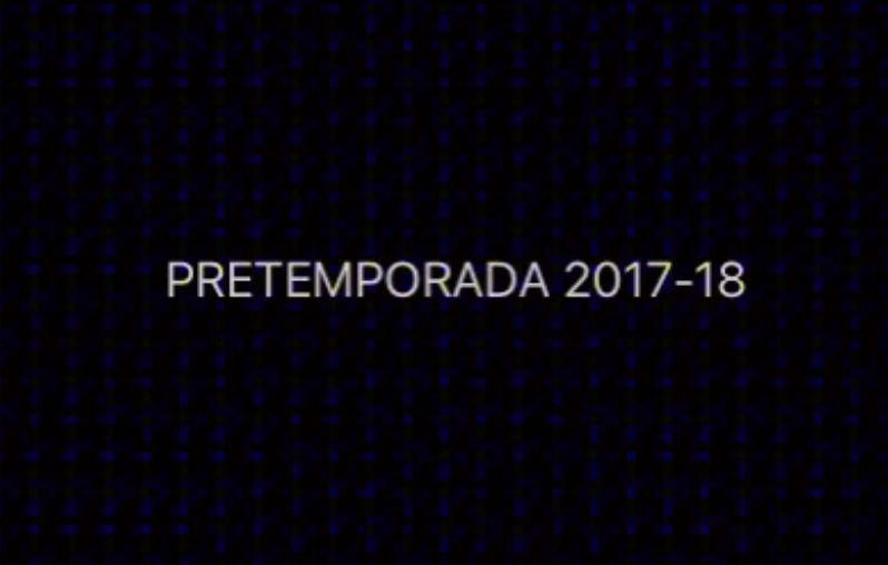 Pretemporada 2017-2018 CD DROMOS
