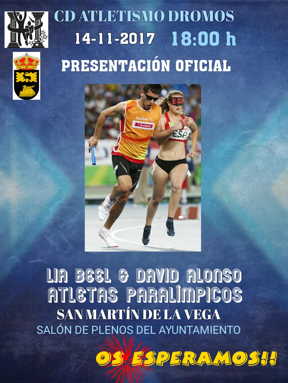 PRESENTACIÓN OFICIAL LIA BEEL Y DAVID ALONSO.