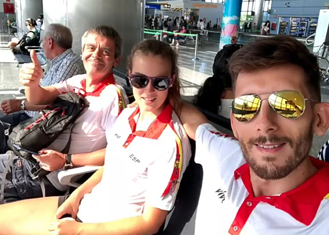 LIA BEEL Y DAVID ALONSO RUMBO AL EUROPEO.